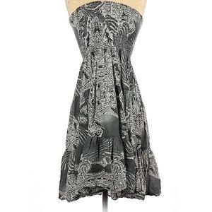 Casual tye dye print dress size large